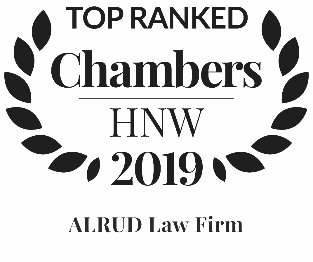 ALRUD ranked by Chambers HNW 2019