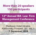 12th Annual IBA Law Firm Management Conference