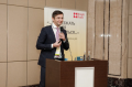 Andrey Zharskiy at the conference devoted to Russian office property